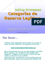 Toc Categoria de reservación