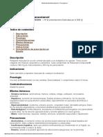 Medicamento Metocarbamol + Paracetamol 2014