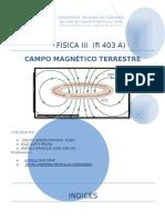 Labo Campo Magnetico Terrestre