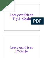 Leer y Escribir en 1ro y 2do Grado - Mirta Torres