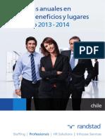 [Estudio] Tendencias Anuales en Sueldos, Beneficios y Lugares de Trabajo 2013-2014_baja