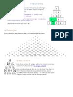 El Triángulo de Pascal