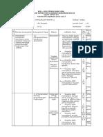 Kisi-kisi, Spesifikasi Dan Soal