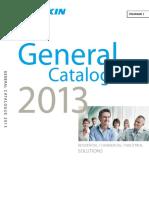 Daikin General Catalog 2013 Eng