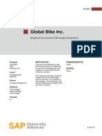 Global Bike Inc - SAP ERP