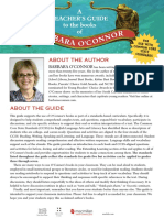 Teacher Guides for books by Barbara OConnor