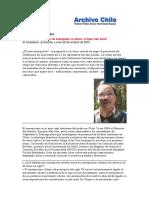 Anarquismo en Chile. S. Grez