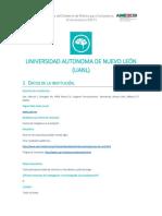 Universidad Autonoma de Nuevo Leon Uanl
