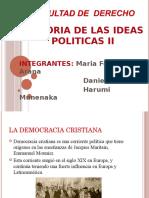Historia de Las Ideas Politicas- Democracia Cristiana
