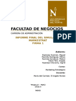 Informe Markestrated Firma 1