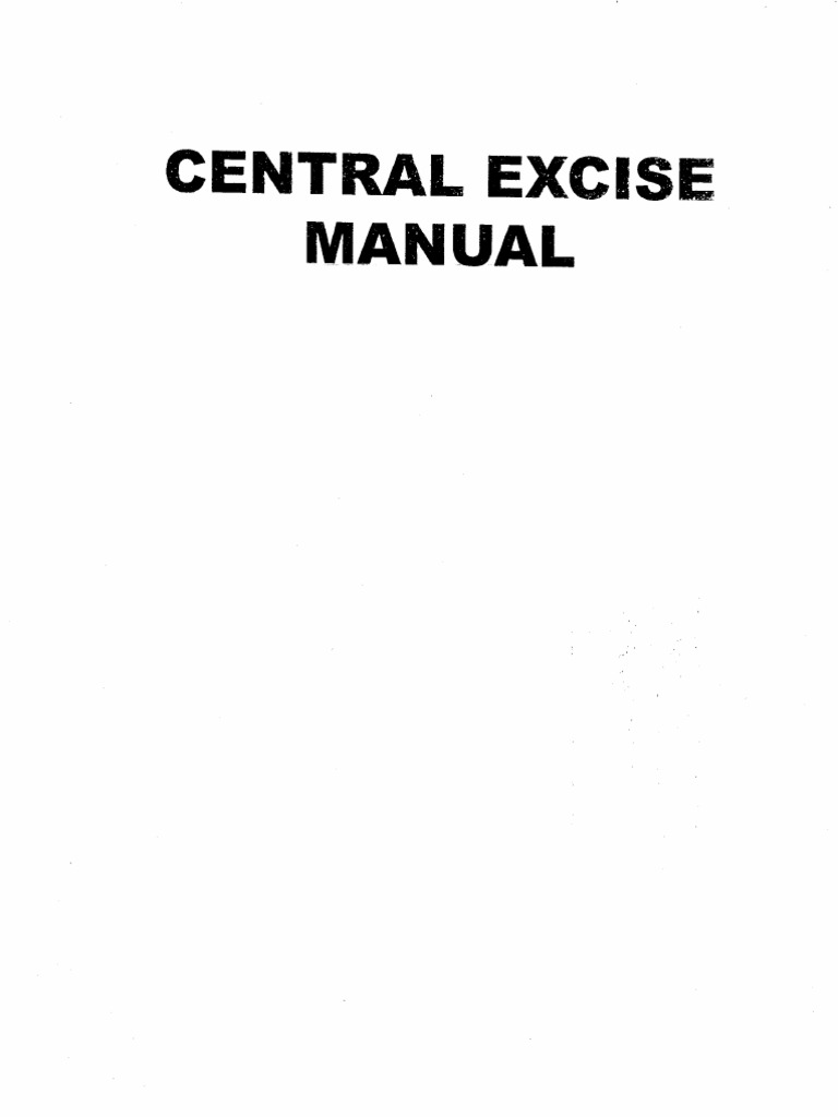 Central Excise Rules 2002 Pdf
