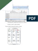 Instrumentos de Evaluacion, Diario de Campo