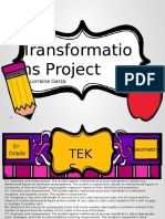 transformations project