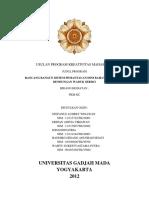 Rancang Bangun Sistem Pemantauan Dini Bahaya Jebolnya Bendungan Waduk Sermo