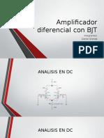 Amplificador Diferencial Con BJT (2)