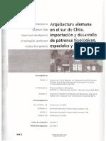 R de la C. Arquitectura alemana en el sur de Chile.pdf
