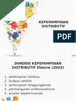 Slide Kepemimpinan Distributif