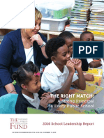 The Chicago Public Education Fund's 2016 School Leadership Report