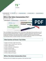 MCQs in Fiber Optics Communications Part I _ PinoyBIX - Engineering Review.pdf