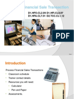 PP Process a Financial Sale Transaction 290812