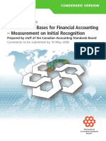 Measurement Bases for Financial Accounting Dp Short
