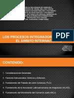 Procesos de Integración