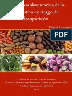 Productos Alimentarios de La Argentina en Riesgo de Desaparicion (1)