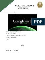 Calculo de Areas y Medidas Topografia