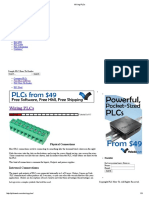 Wiring PLCs