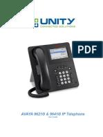 Avaya 9621 & 9641 Ip User Guide