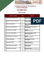 Programacion Para Octubre 2014 (16 Al 31 ) Web