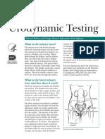 Uro Dynamic Testing