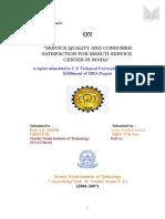 servicequalityandconsumersatisfactionformarutiservicecenter-111002144001-phpapp02