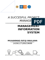 A Succesful Project Management_mis