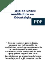Manejo de Shock Anafiláctico en Odontalgia