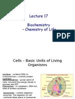 Chem 102 Lecture 17-18 Biochemistry f 2016