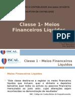 Meios Financeiros Liquidos
