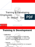 Training & Developing Employees (Lincoln University)