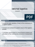 International Logistics Introduction