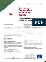 Handout ECHR Simplyfied 2p