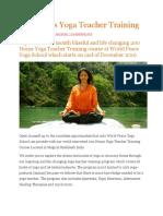 Worldpeace Yoga School Doc