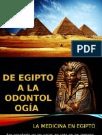 egipto en la odontologia