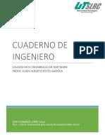Cuaderno de Ingeniero