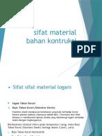 Sifat Material Bahan Kontruksi