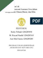4 Asuransi Syariah Makalah Kel.4