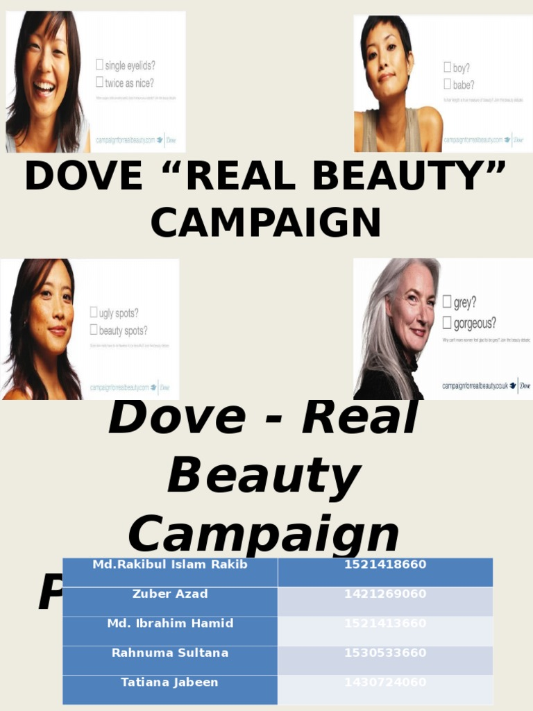dove inner beauty campaign