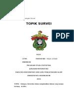 Tugas 1 Citra Farahdiba Isnandar h12113022
