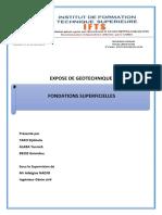 Calcul Des Fondations Superficielles