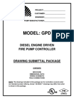 Diesel Engine Fire Pump Controller (GPD Model)