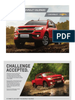 The New 2017 Chevrolet Colorado Brochure